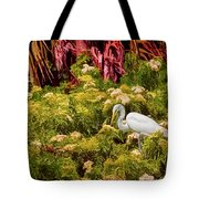 Bird In The Blooms Tote Bag
