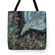 Bird In The Flowers Tote Bag