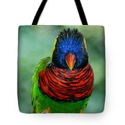 Bird In Your Face  Tote Bag
