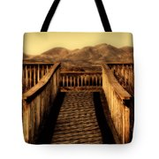 Bird Lookout-bosque Del Apache  Tote Bag