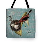 Bird Nest - 02v02t01 Tote Bag