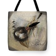 Bird Nest - Sp11ac02 Tote Bag