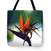 Bird Of Paradise Flower Fragrance Tote Bag