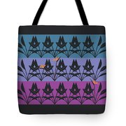 Bird Of Paradise Pattern Tote Bag
