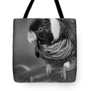 Bird On A Chain Tote Bag