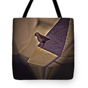 Bird On A Ledge Tote Bag