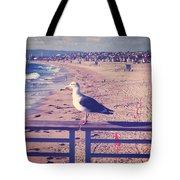 Bird On A Rail Tote Bag