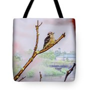 Bird On The Brunch Tote Bag