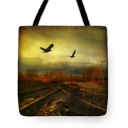 Country Bird Rail Tote Bag
