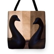 Bird Sculptures Tote Bag