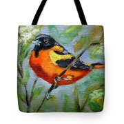 Bird Series Oriole Tote Bag