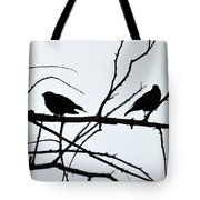 Evening Silhouettes Tote Bag