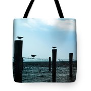 Bird Silhouettes Tote Bag