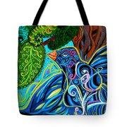 Bird Song Tote Bag by Genevieve Esson