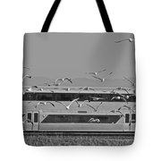 Bird Train Alviso 2 Tote Bag