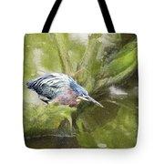 Bird Whirl Tote Bag