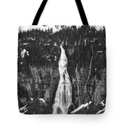 Bird Woman Waterfalls Tote Bag