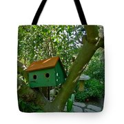 Birdhouse In A Tree Tote Bag
