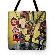 Birdhouse Subdivision Tote Bag