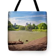 Birds Eye View Tote Bag