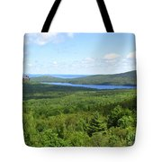Bird's Eye View Of Eagle Lake Tote Bag
