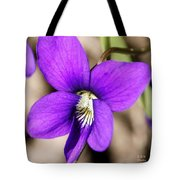 Birds Foot Violet Tote Bag