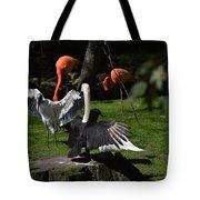 Birds Gather Tote Bag