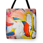 Birds In Paradise Tote Bag