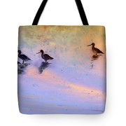 Birds In The Camargue Tote Bag