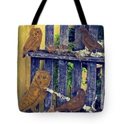 Birds Of A Feather Stay Together Tote Bag