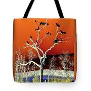 Birds On Tree Tote Bag