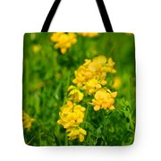Birdsfoot Trifold Tote Bag