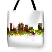 Birmingham Uk City Skyline Tote Bag