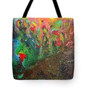 Birth Of A Planet Tote Bag