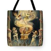 Birth Of The Chorus Girl Tote Bag