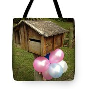 Birthday Balloons Tote Bag