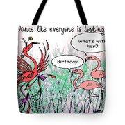 Birthday Dance Tote Bag