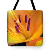 Birthday Lily. Tote Bag
