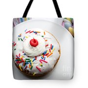 Birthday Party Donut Tote Bag