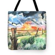 Birthday Sunrise Tote Bag