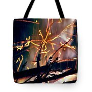 Birthed From Fire Tote Bag by Rory Sagner