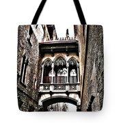 Bishop's Street - Barcelona Tote Bag by Juergen Weiss