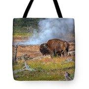 Bison Mud Tote Bag