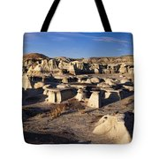 Bisti Badlands Pano Tote Bag
