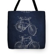 Bisycle Patent Drawing From 1898 Tote Bag