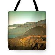Bixby Bridge Digital Tote Bag
