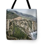 Bixby Bridge Vista Tote Bag