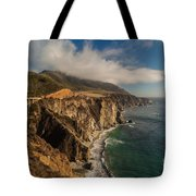 Bixby Coastal Drive Tote Bag by Mike Reid