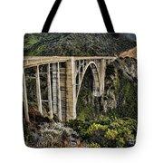 Bixby Creek Bridge Tote Bag