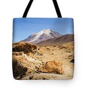 Bizarre Landscape Bolivia Tote Bag